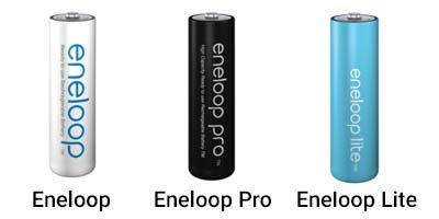 gamme piles eneloop