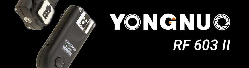 Bannière Yongnuo RF-603 II