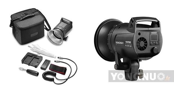 Contenu YN760 Pro LED