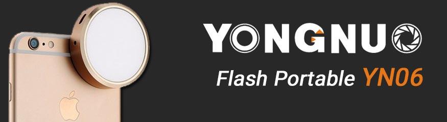 Test : Flash LED YN06 iPhone