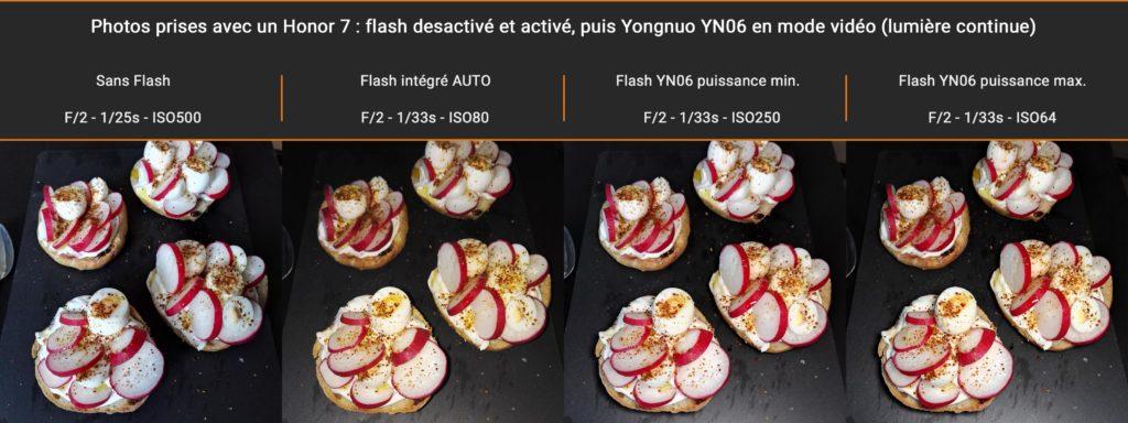 test photo culinaire YN06