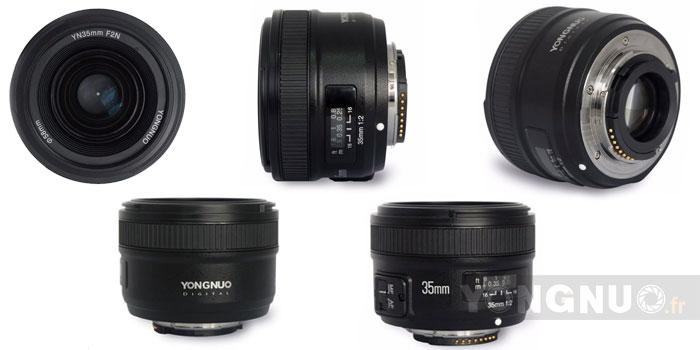 Vues du 50mm f/2 Nikon