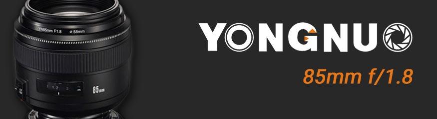 objectif yongnuo 85mm f/1.8