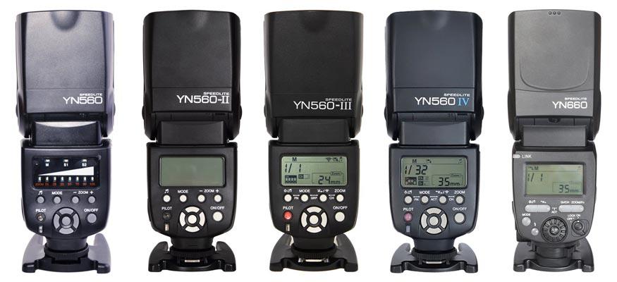 comparaison yongnuo 560 660