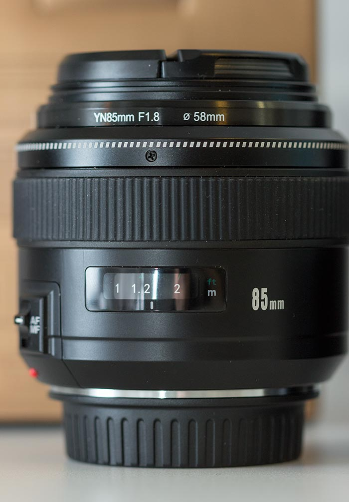 yongnuo 85mm f/1.8
