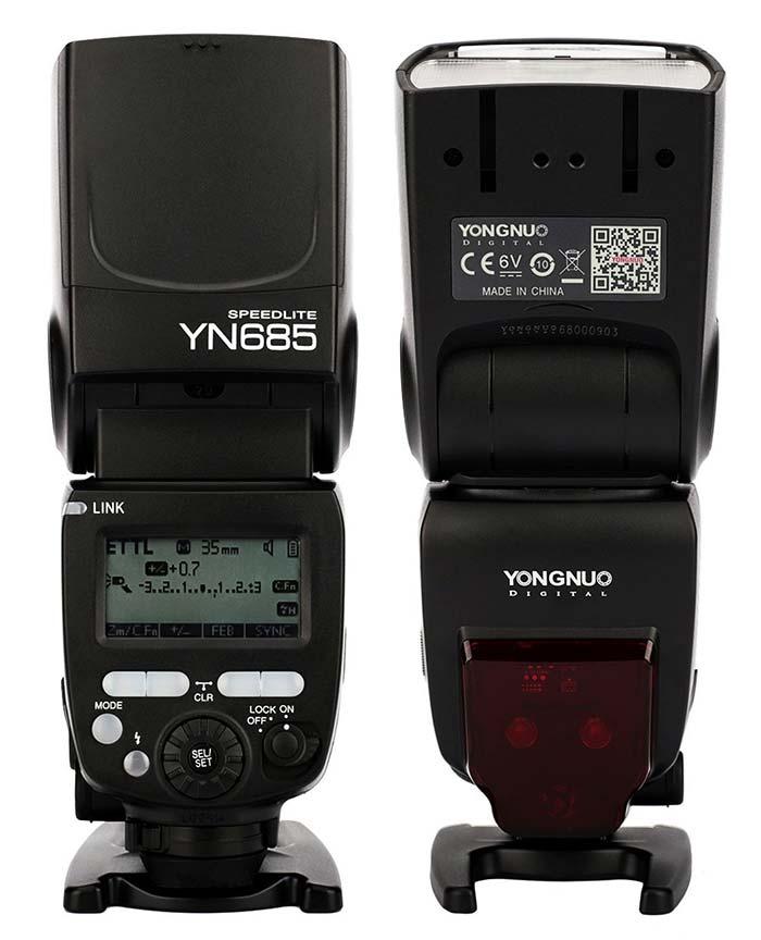 Présentation du Yongnuo YN-685
