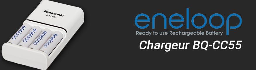Test: Chargeur Eneloop BQ-CC55 (Panasonic)