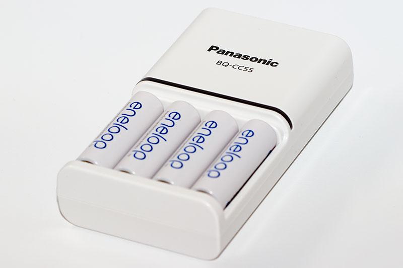 Chargeur Panasonic BQ-CC55