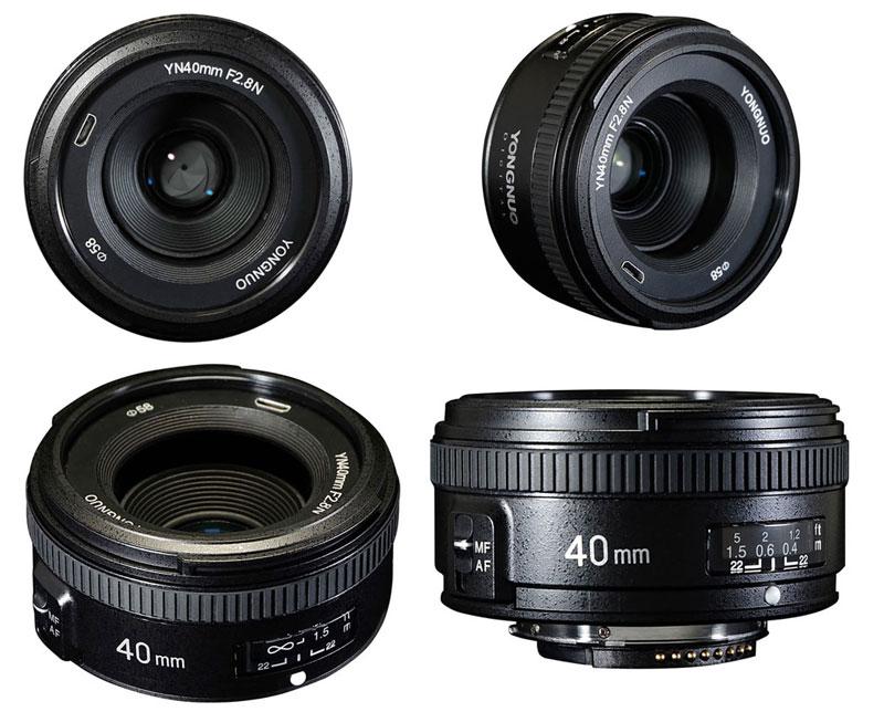 Yongnuo 40mm f/2.8 nikon