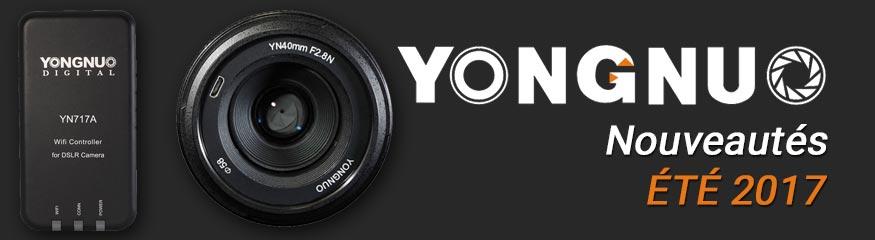 Bannière Nouveautés 2017 Yongnuo