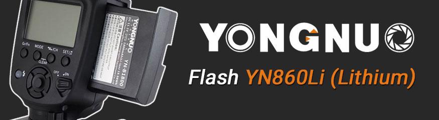Bannière Yongnuo YN860Li