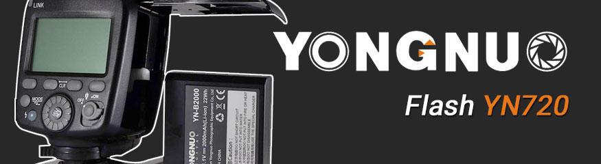 Flash Yongnuo YN720 (Batterie Lithium)