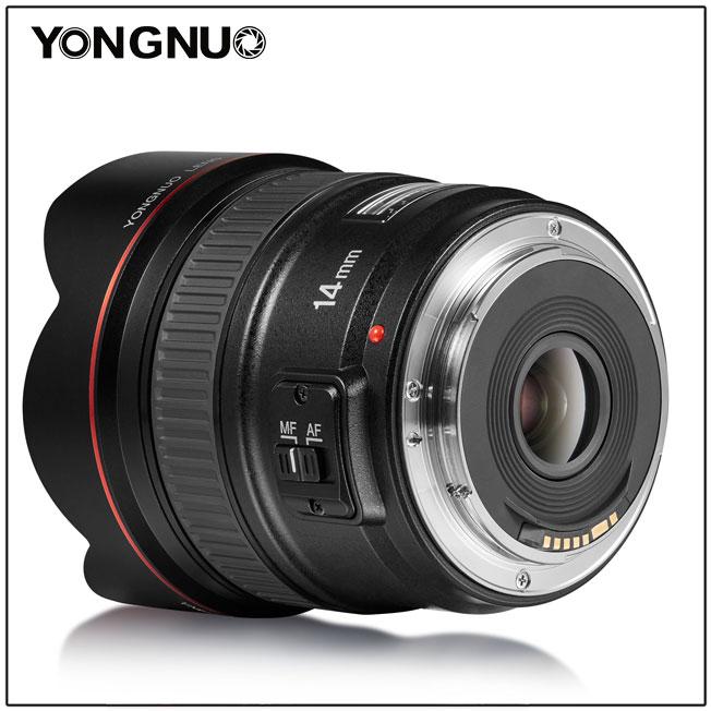 Yongnuo 14mm f/2.8 v3