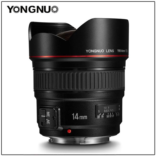 Yongnuo 14mm f/2.8 v1
