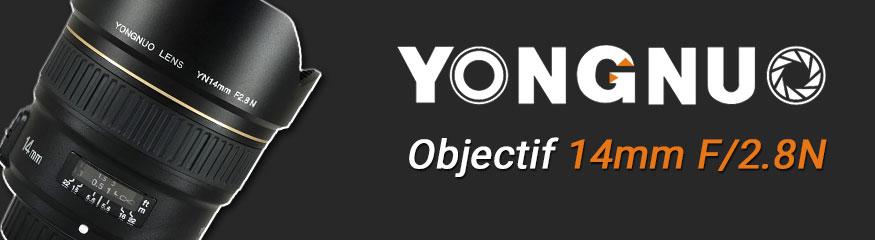 Bannière Yongnuo 14mm Nikon