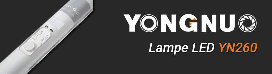 YN260 bannière