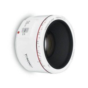 Yongnuo 50mm f/1.8 II blanc