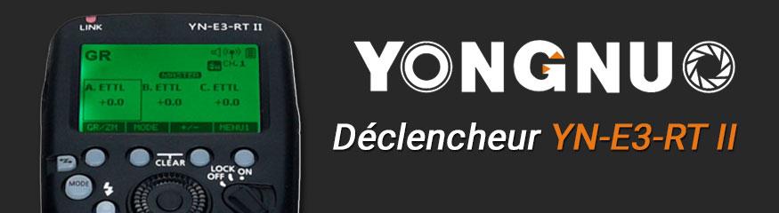 Transmetteur Yongnuyo YN-E3-RT II