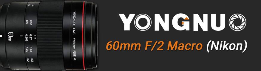 Bannière YN60mm f/2 Nikon