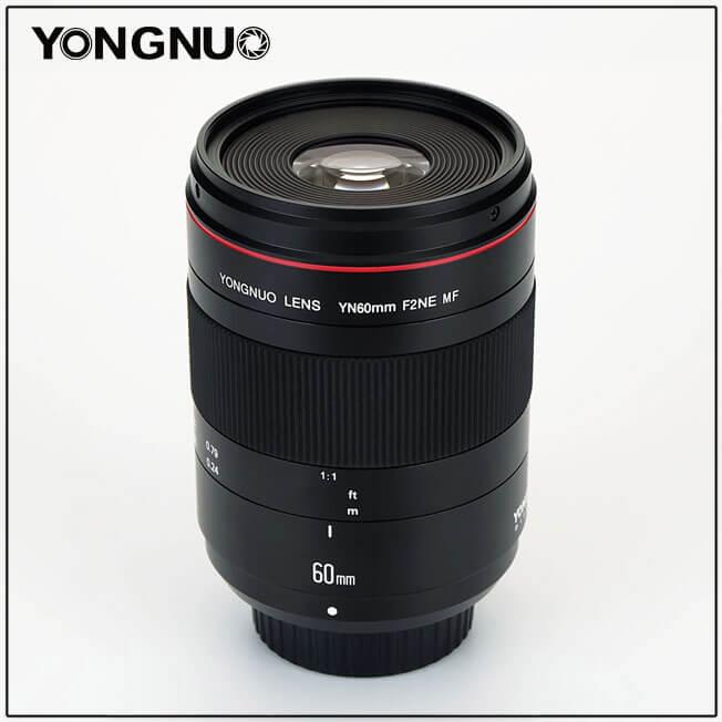 Objectif Yongnuo YN60mm F/2 Nikon - 2