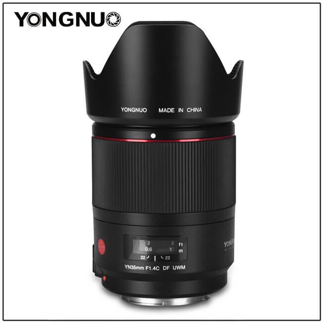 Objectif Yongnuo yn35mm 1.4 df uwm - 1