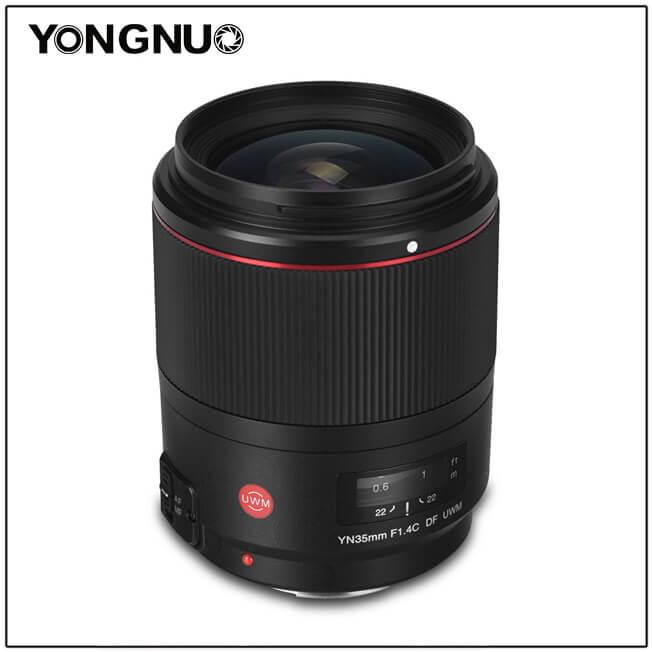 Objectif Yongnuo yn35mm 1.4 df uwm - 5